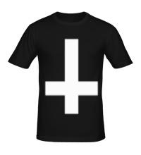 Мужская футболка Крест атеиста