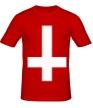 Мужская футболка «Крест атеиста» - Фото 1