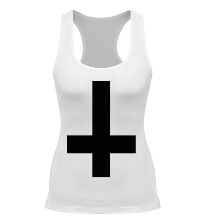 Женская борцовка Крест атеиста