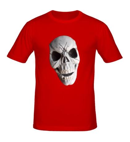 Мужская футболка Череп страшный полноцветный