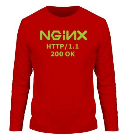 Мужской лонгслив Nginx 200 OK