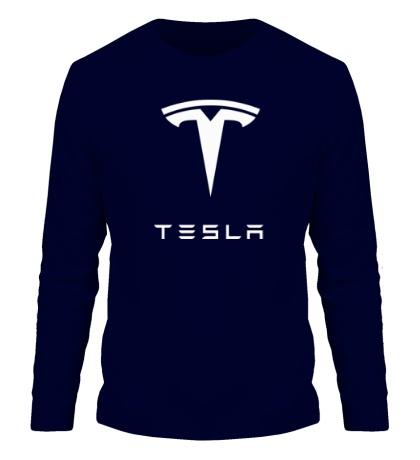 Мужской лонгслив Tesla