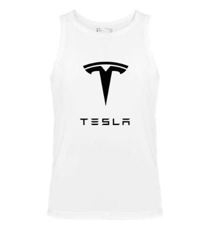 Мужская майка Tesla