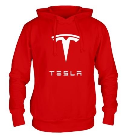 Толстовка с капюшоном Tesla