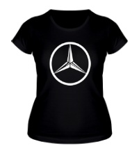 Женская футболка Mercedes Mark