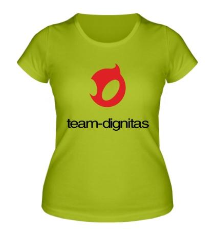 Женская футболка Dignitas Team
