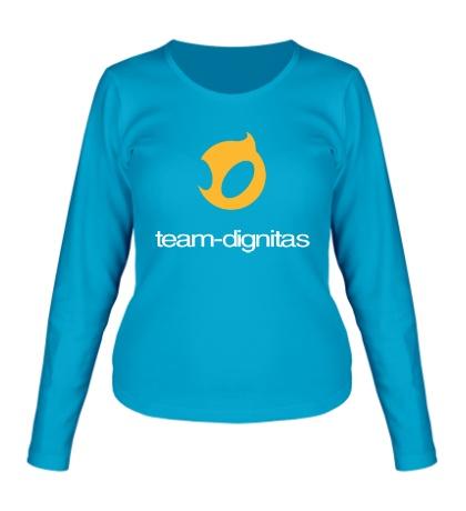 Женский лонгслив Dignitas Team