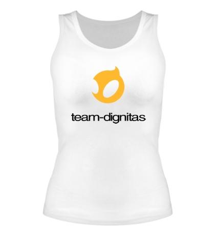 Женская майка Dignitas Team