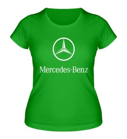 Женская футболка «Mercedes Benz»