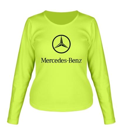 Женский лонгслив Mercedes Benz
