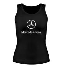 Женская майка Mercedes Benz