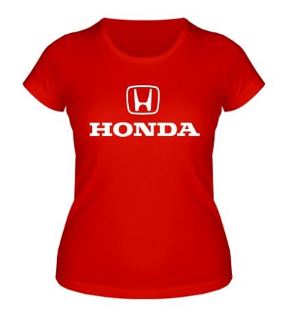 Женская футболка Honda
