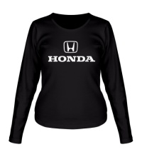 Женский лонгслив Honda