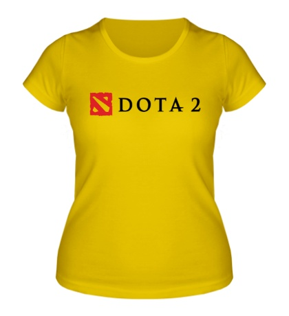 Женская футболка Dota 2 Logo