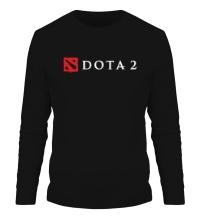 Мужской лонгслив Dota 2 Logo