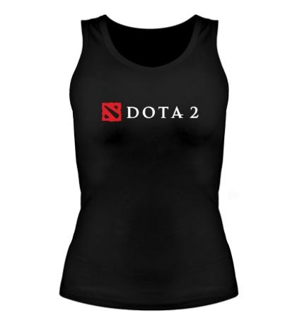 Женская майка Dota 2 Logo