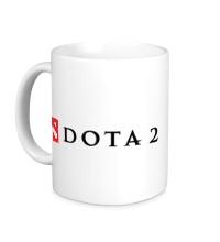 Керамическая кружка Dota 2 Logo