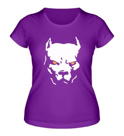 Женская футболка Старфорширдский терьер