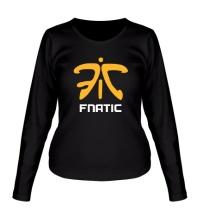 Женский лонгслив Fnatic Team