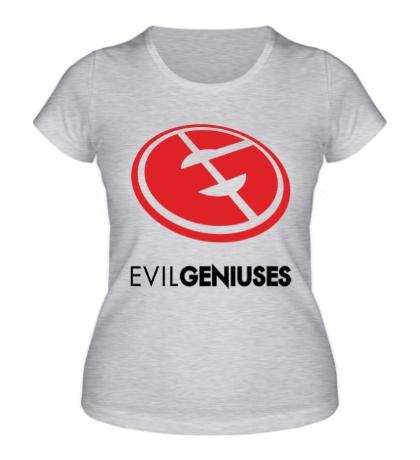 Женская футболка Evil Geniuses Team