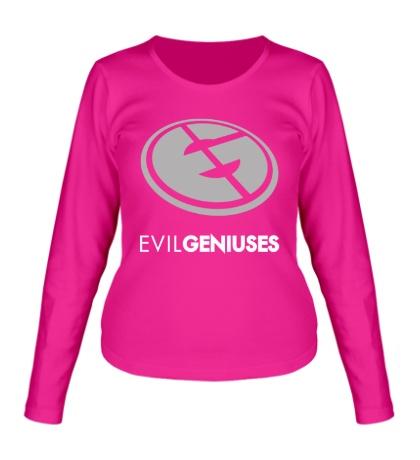 Женский лонгслив Evil Geniuses Team