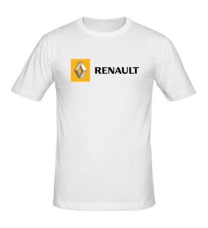 Мужская футболка Renault Line
