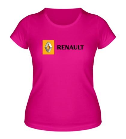 Женская футболка Renault Line