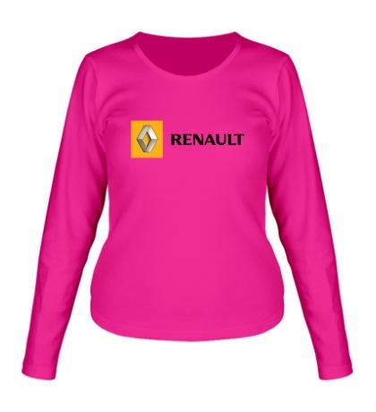 Женский лонгслив Renault Line