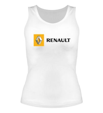 Женская майка Renault Line