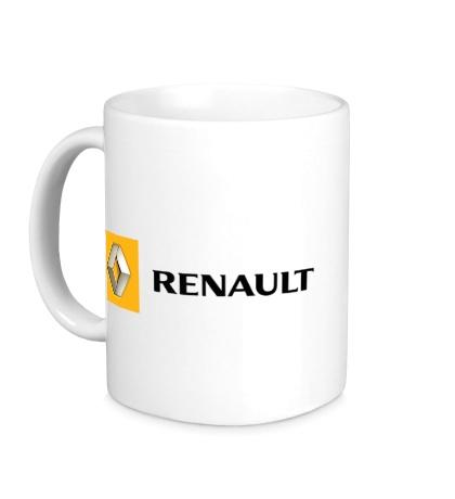 Керамическая кружка Renault Line