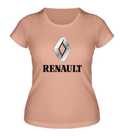 Женская футболка Renault