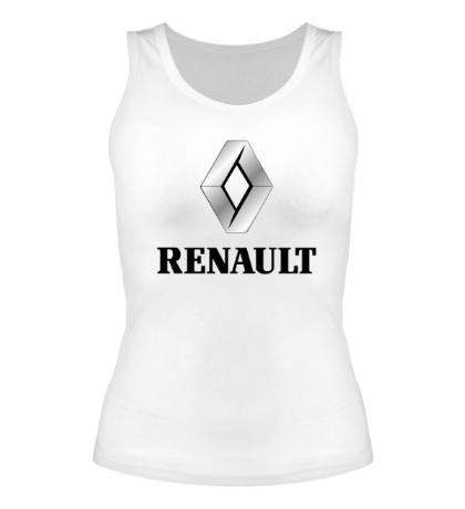 Женская майка Renault