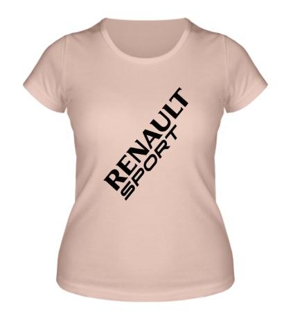 Женская футболка Renault sport