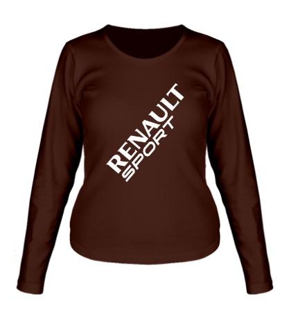 Женский лонгслив Renault sport
