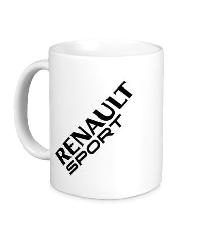 Керамическая кружка Renault sport