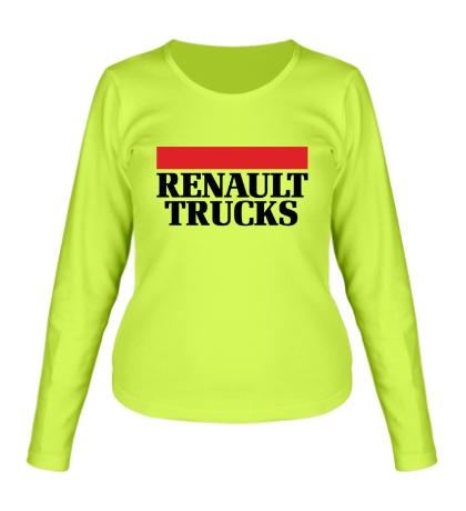 Женский лонгслив Renault Trucks