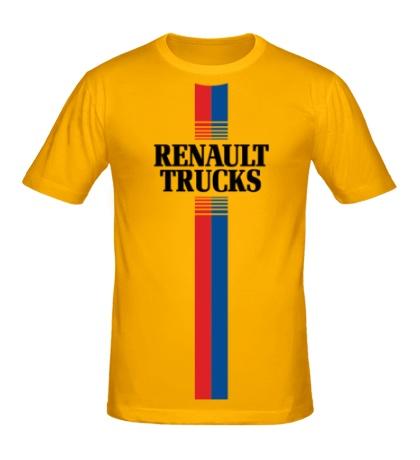 Мужская футболка Renault Trucks Lines