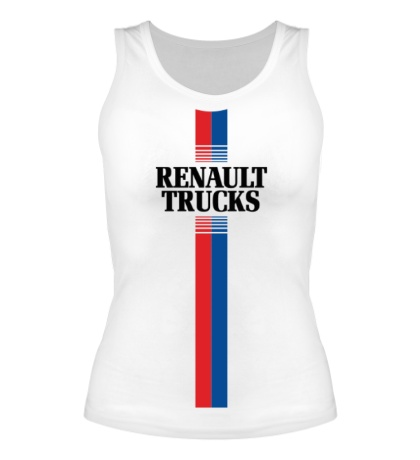 Женская майка Renault Trucks Lines