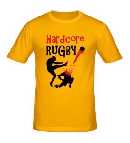Мужская футболка Hardcore rugby