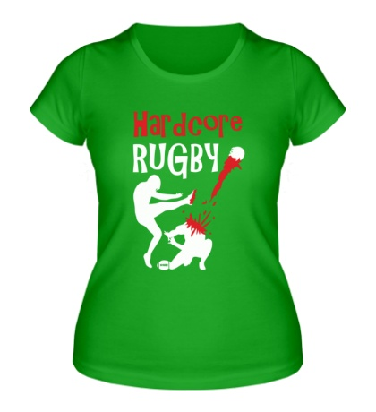 Женская футболка Hardcore rugby
