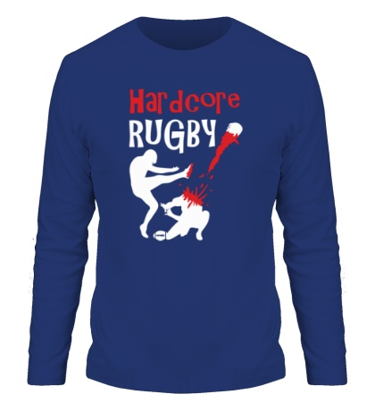 Мужской лонгслив Hardcore rugby