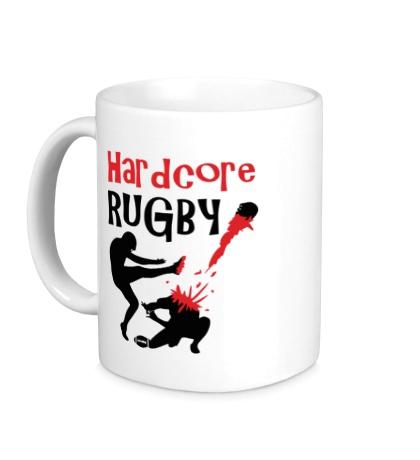 Керамическая кружка Hardcore rugby
