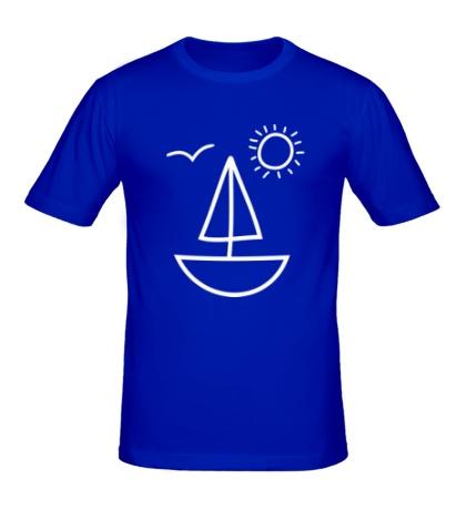 Мужская футболка Настроение лето