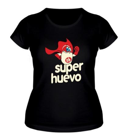 Женская футболка Super Huevo