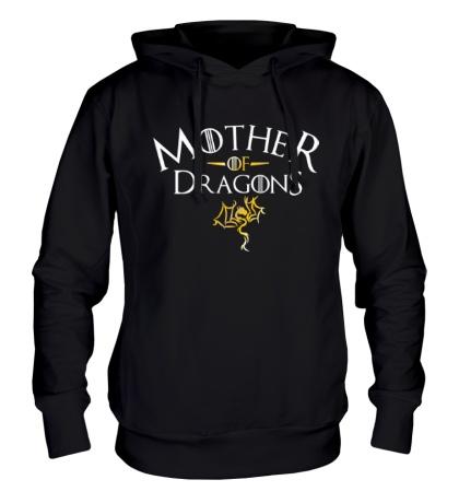 Толстовка с капюшоном Mother of Dragons