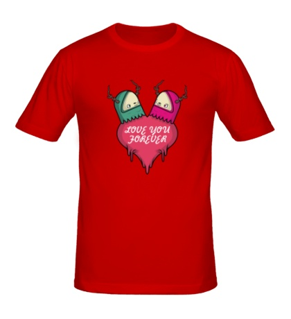 Мужская футболка Love you
