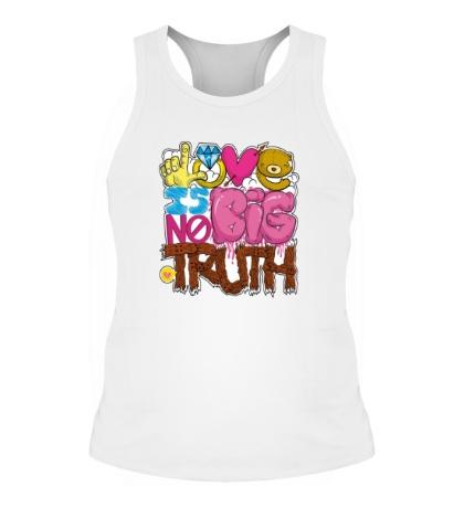 Мужская борцовка Love is big no truth