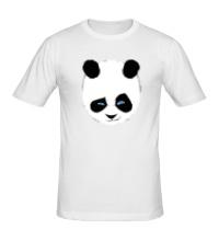 Мужская футболка Панда подмигивает