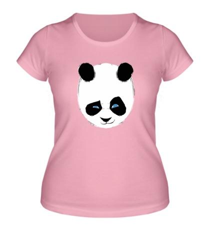 Женская футболка Панда подмигивает