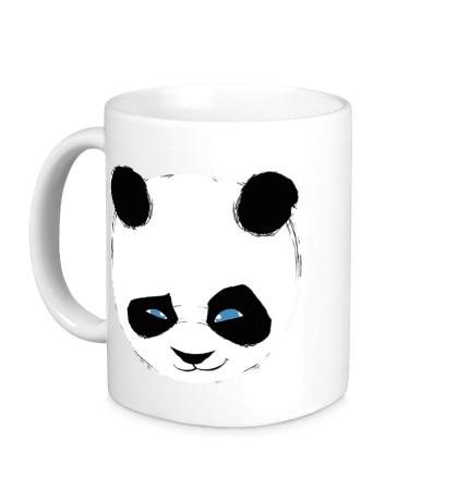 Керамическая кружка Панда подмигивает